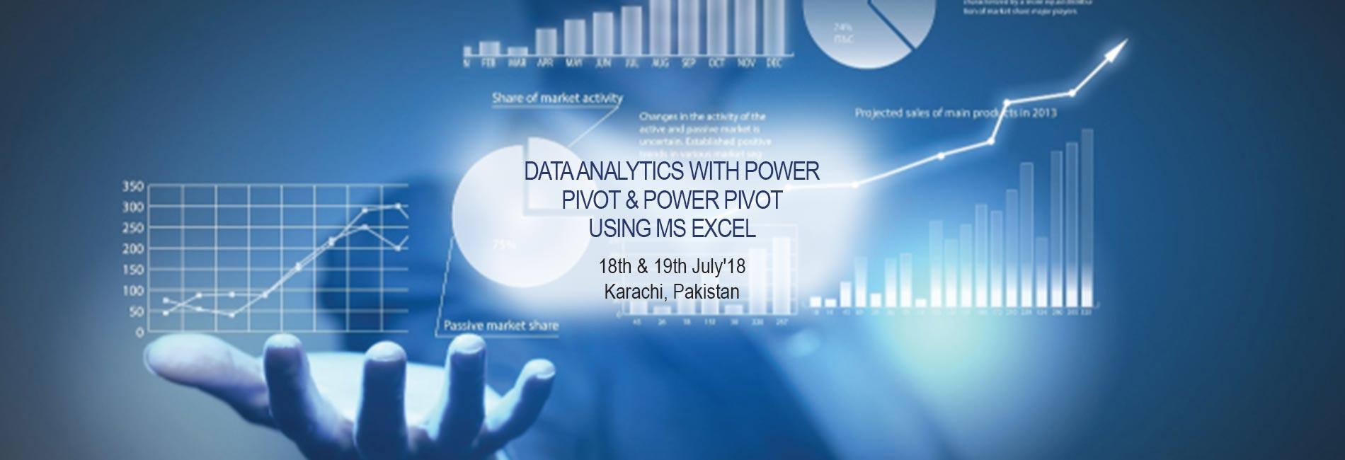 Data Analytics with Power Pivot & Power Pivot using MS Excel