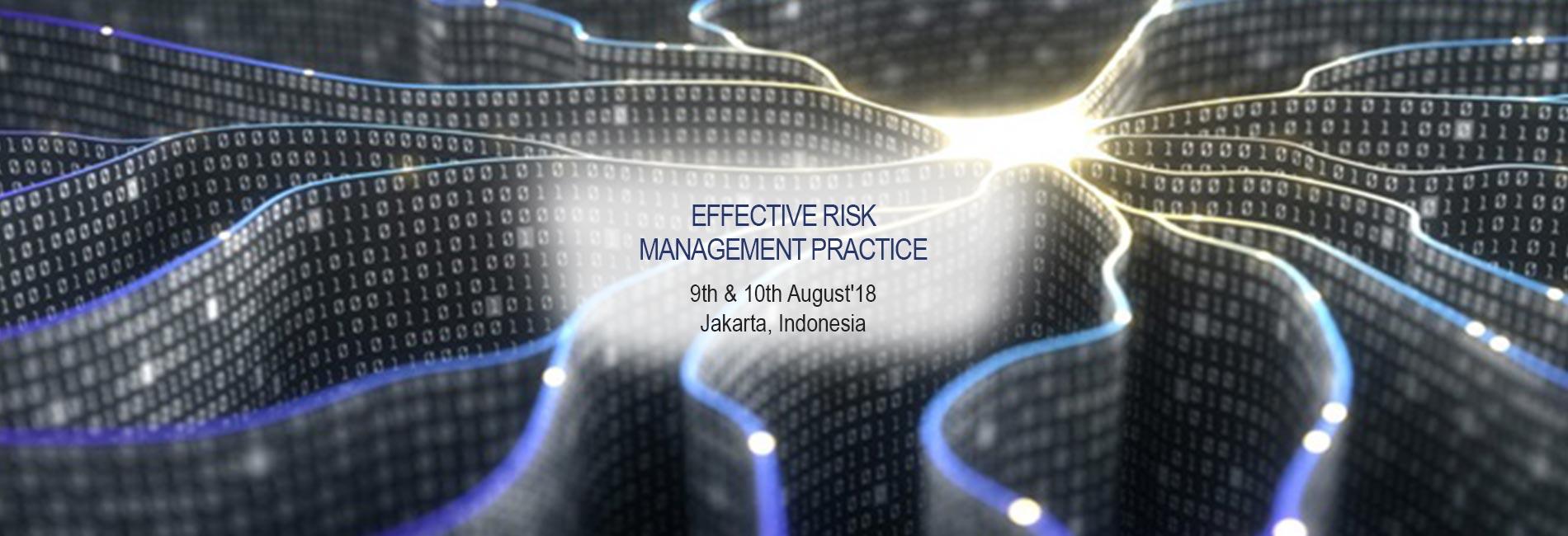 Effective Risk Management Practice